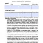 Arizona Durable Financial Power of Attorney Form