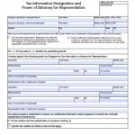 Colorado Tax Power of Attorney Form
