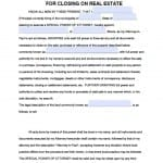 Illinois Real Estate ONLY Power of Attorney Form