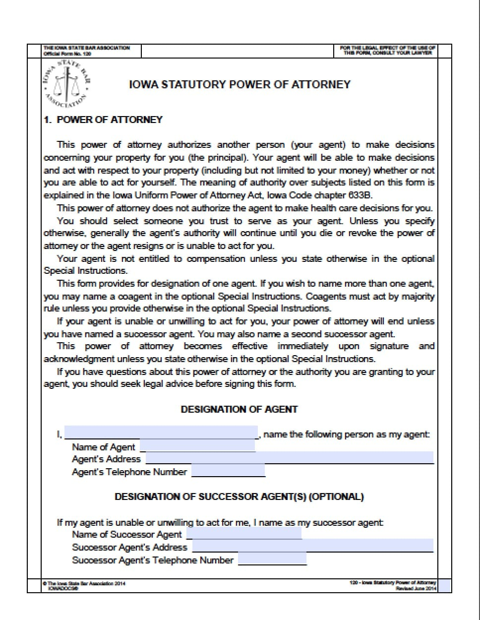 It is an image of Superb Printable Durable Power of Attorney Forms