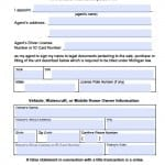 Michigan Vehicle Power of Attorney Form