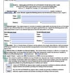 Missouri Medical Power of Attorney Form