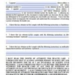 Nebraska Medical Power of Attorney Form