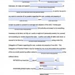 Nebraska Minor Child Power of Attorney Form