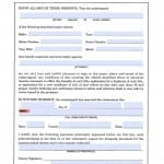 North Carolina Vehicle Power of Attorney Form