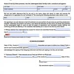 Ohio Vehicle Power of Attorney Form