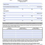 Oklahoma Tax Power of Attorney Form