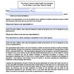 West Virginia Medical Power of Attorney Form