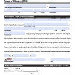 West Virginia Vehicle Power of Attorney Form
