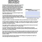 Wisconsin Durable Financial Power of Attorney Form