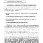 Wisconsin Revocation Power of Attorney Form