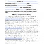 Connecticut Real Estate ONLY Power of Attorney Form