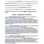 Delaware Real Estate ONLY Power of Attorney Form