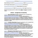 Iowa Real Estate ONLY Power of Attorney Form