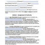 Kansas Real Estate ONLY Power of Attorney Form