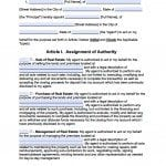 Massachusetts Real Estate ONLY Power of Attorney Form