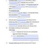 Pennsylvania Minor Child Power of Attorney Form